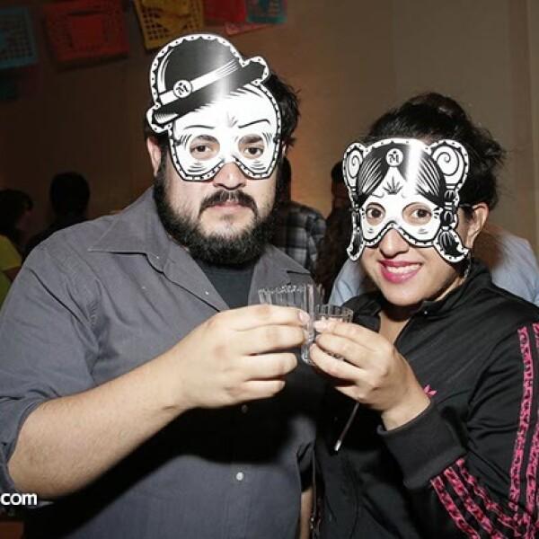 Sergio Fortuna y Sara Jaramillo