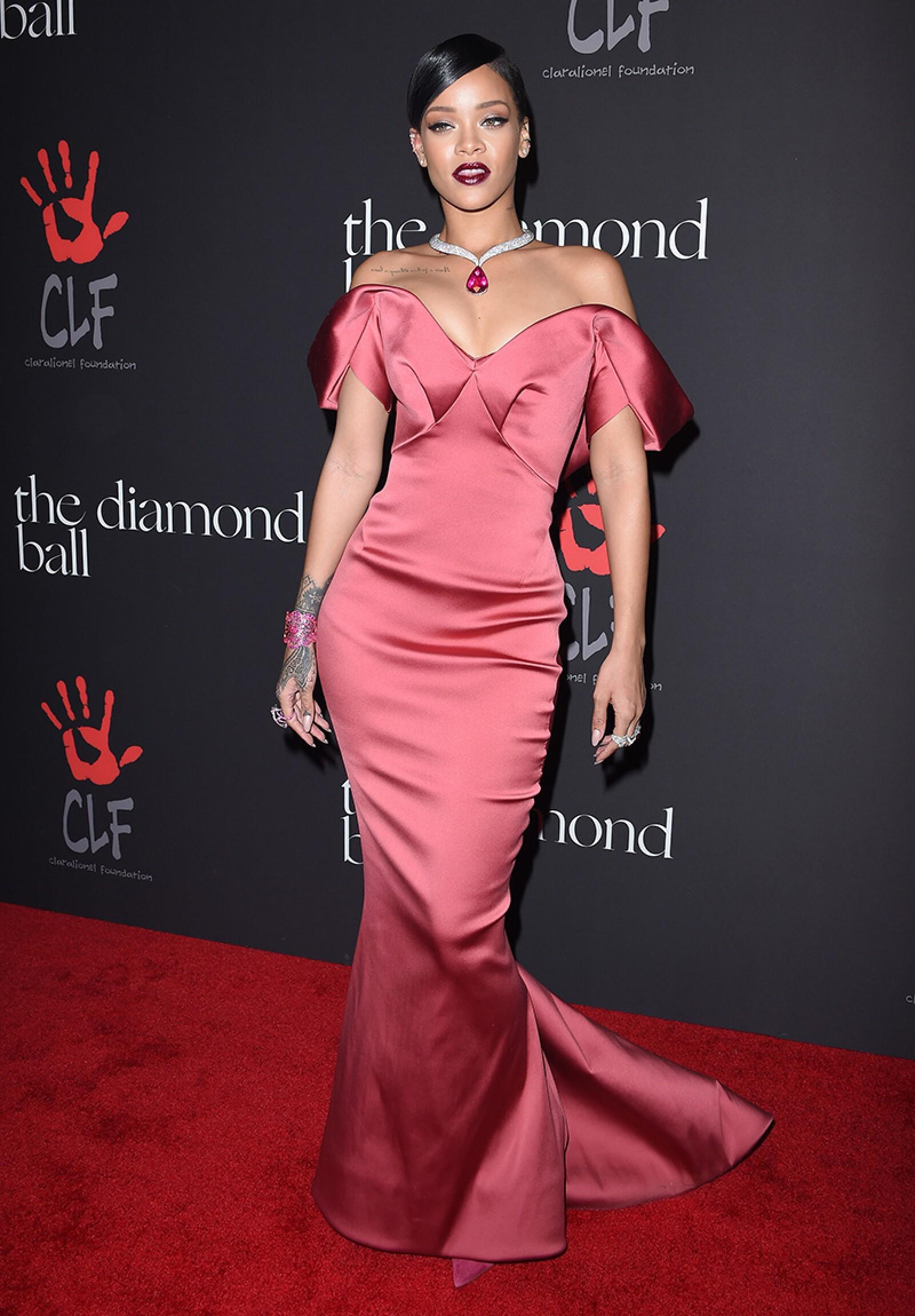 Rihanna's First Annual Diamond Ball