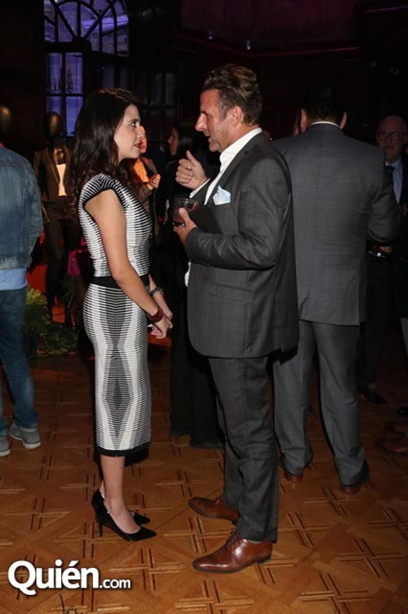 Ana Lorena Hernández y Pascal Fidry