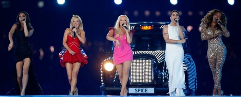 Sin duda, las Spice Girls fueron uno de los actos más esperados.