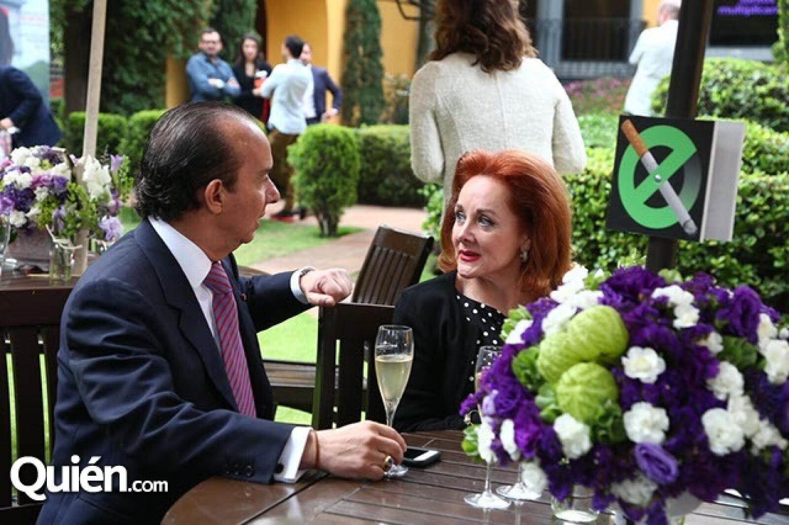 Francisco del Cueto y Patricia Barrios Gómez
