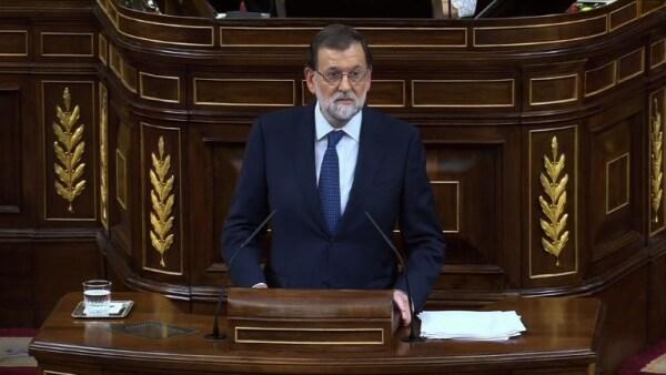 Mariano Rajoy rechaza ante el Congreso español cualquier mediación con Cataluña