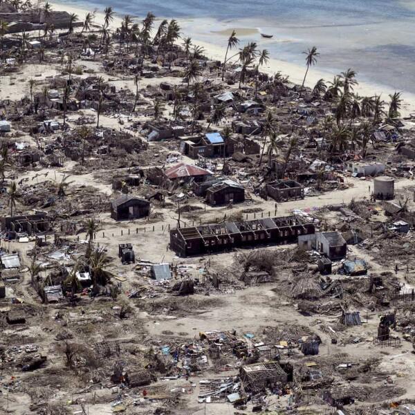 Ciclón Mozambique
