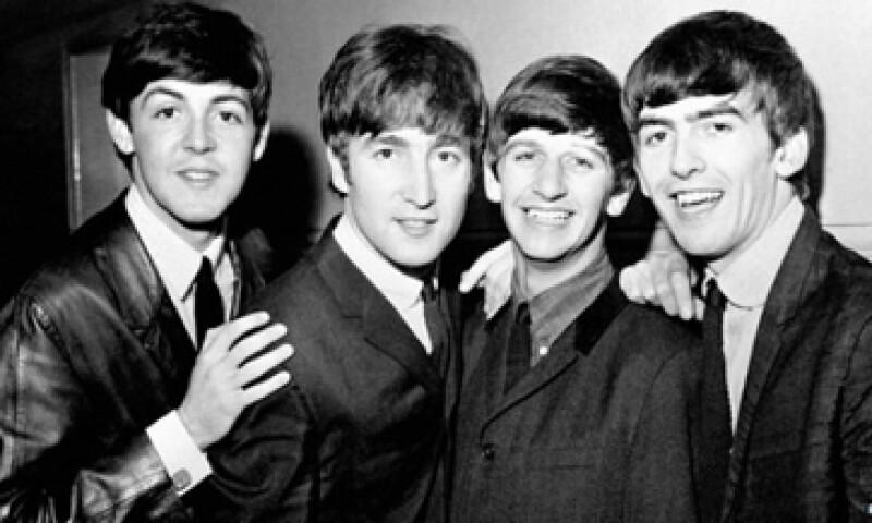 El viernes 7 de febrero el cuarteto arribó a la ciudad de Nueva York, en su primera visita a Estados Unidos.  (Foto: Getty Images)