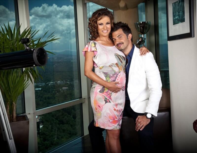 Fernando del Solar lleva una excelente relación con el hijo mayor de Ingrid, Emiliano, quien dijo lo considera su mejor amigo.