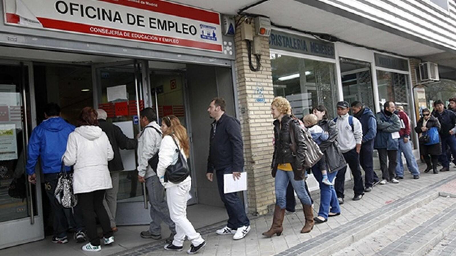 España, crisis, paro laboral