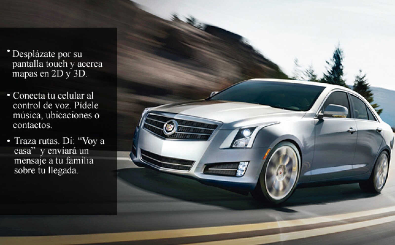 Su APP te permite personalizar el tablero y operar desde el volante.