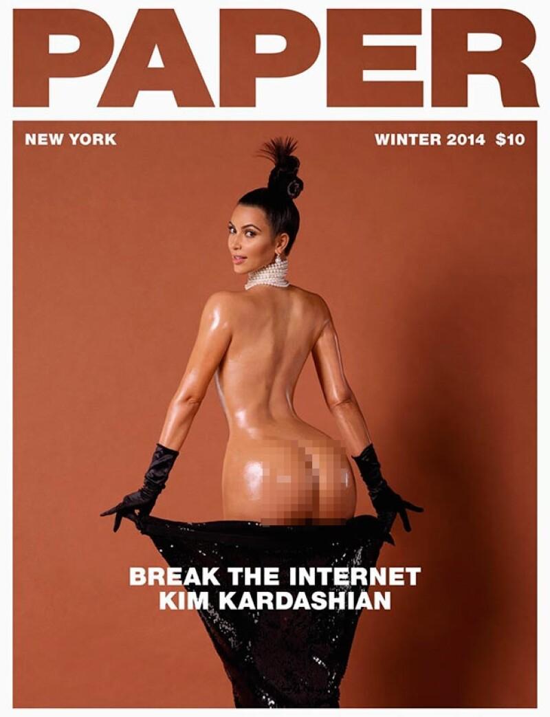 La socialité estelariza la divertida portada de la revista neoyorkina Paper, dirigida por el fotógrafo francés Jean-Paul Goude. Las imágenes han acaparado la atención cibernética.
