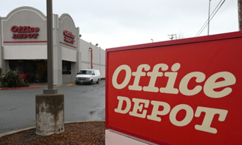 Staples anunció la compra de Office Depot por 6,300 mdd. (Foto: Getty Images )