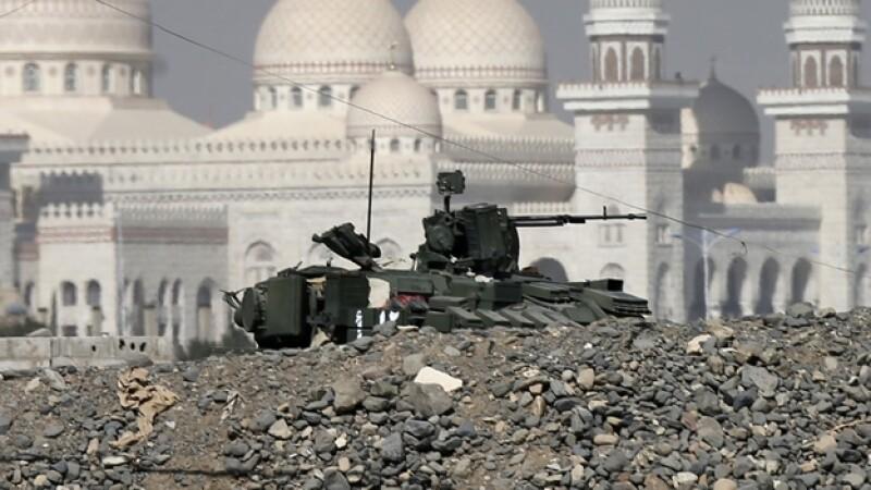 Yemen Houthi palacio presidencial