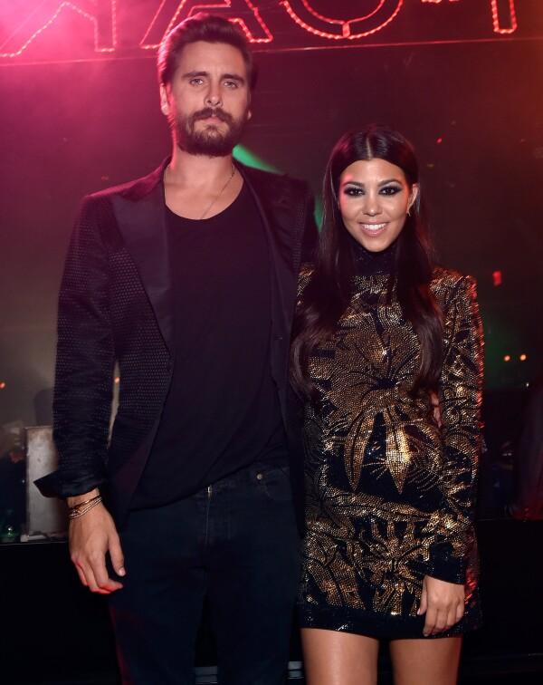 Scott Disick y Kourtney Kardashian