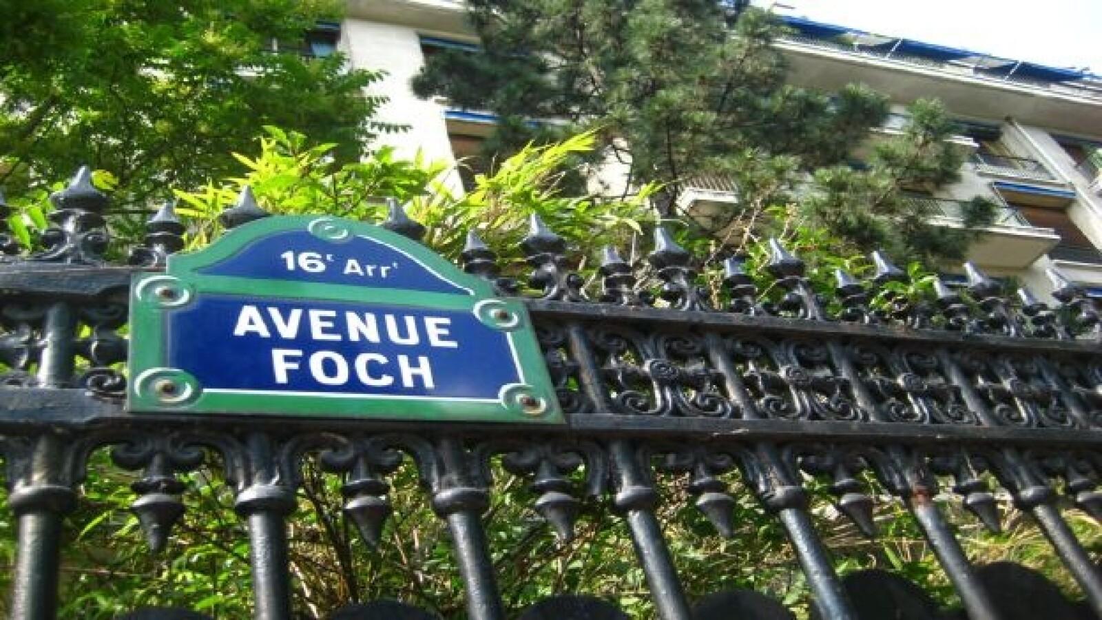 Residencia de Porfirio Diaz en Paris