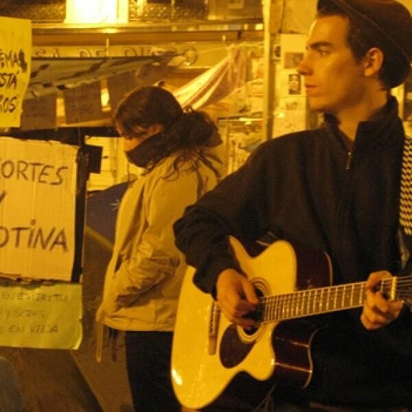 España - indignados - música