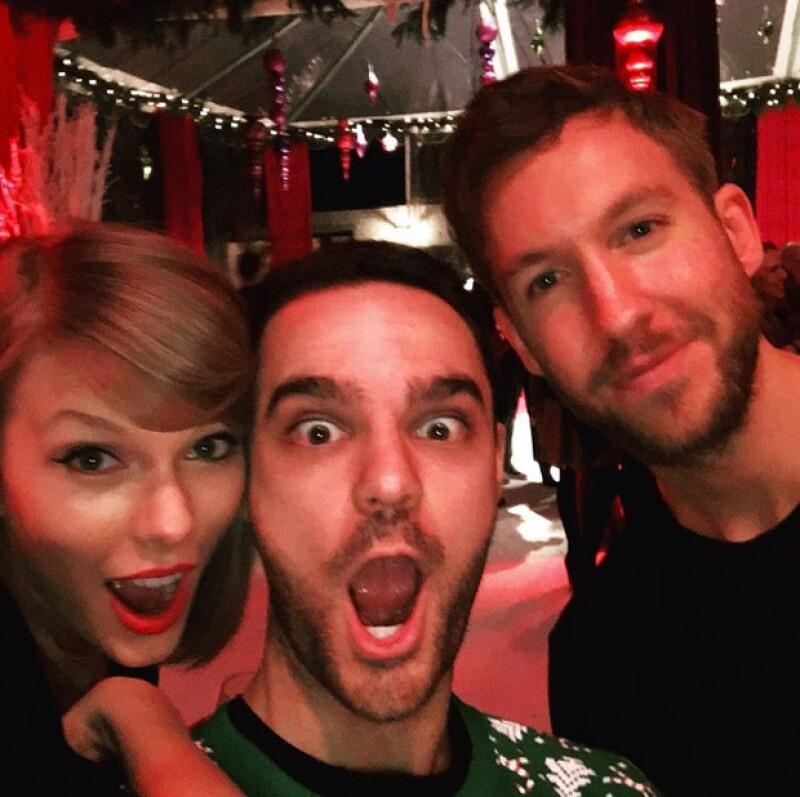 La cantante estuvo acompañada de su novio Calvin Harris y amigos en la celebración de su cumpleaños.