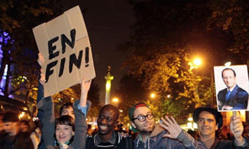 La elección de Hollande en Francia significó un rechazo a la influencia de Alemania en la eurozona. (Foto: Cortesía CNNMoney.com)
