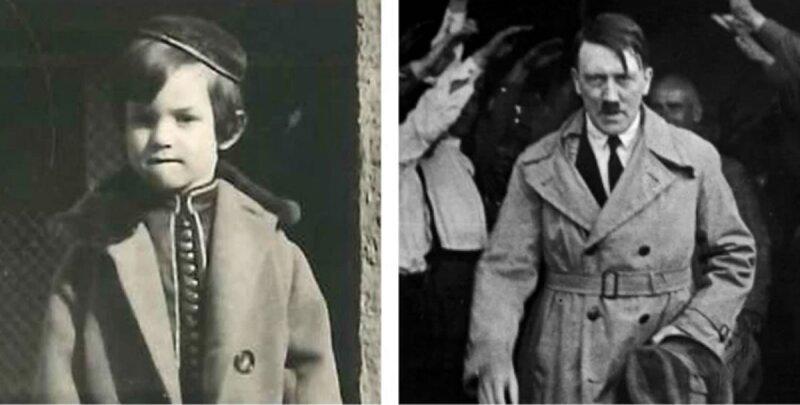 Edgar Feuchtwanger vio a Adolf Hitler en la plaza Prinzregentenplatz de Múnich en 1932.