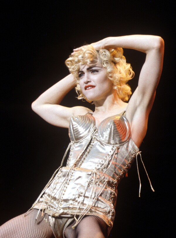 Madonna 'Blonde Ambition' tour at Wembley Stadium, London, Britain - July 1990