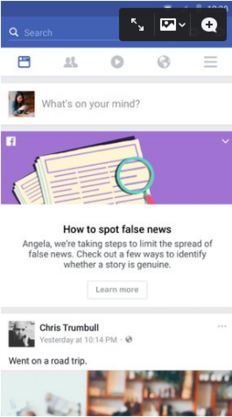 Contra lo falso