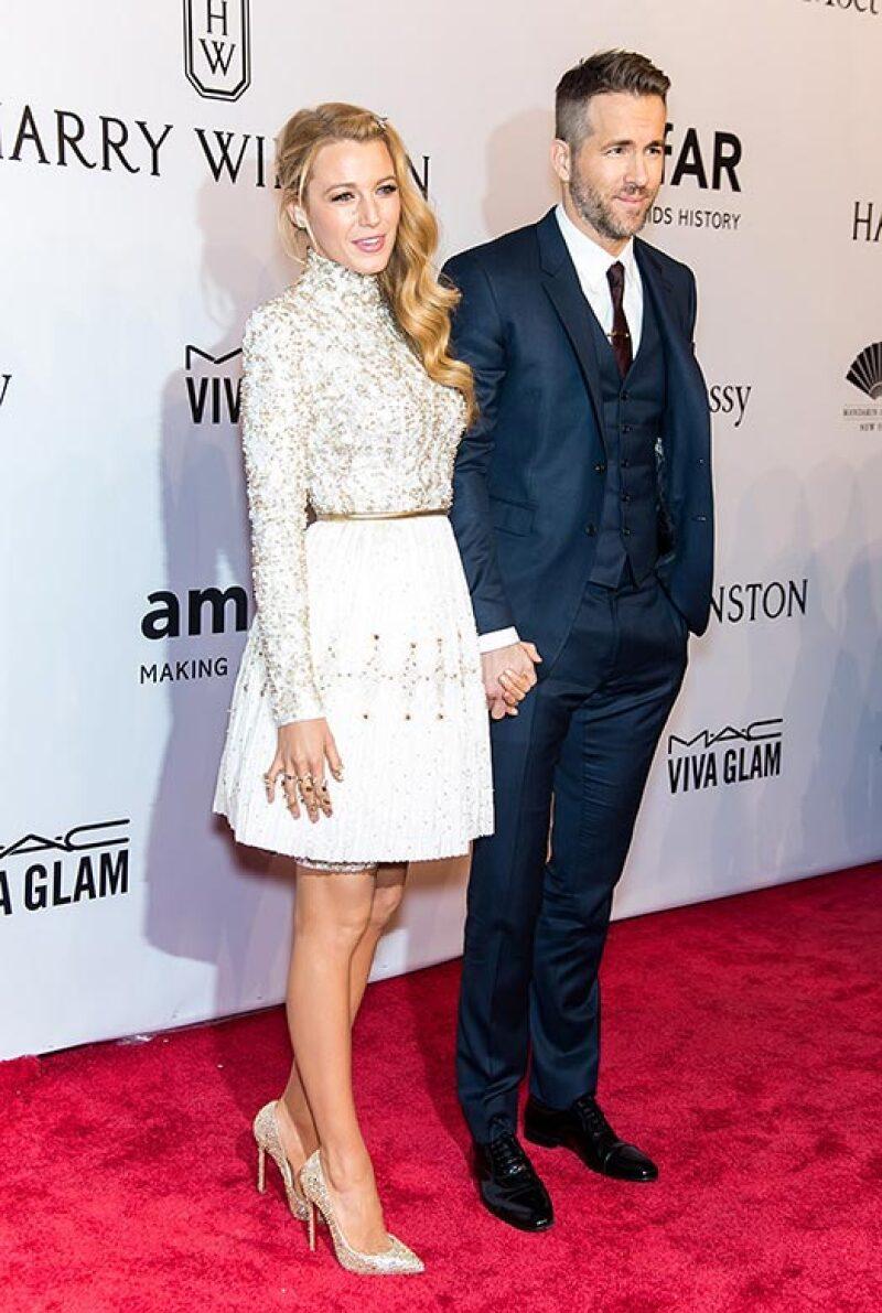 Blake ha estado en Nueva York por la semana de la moda y acompañando a su esposo en promoción de su peli.