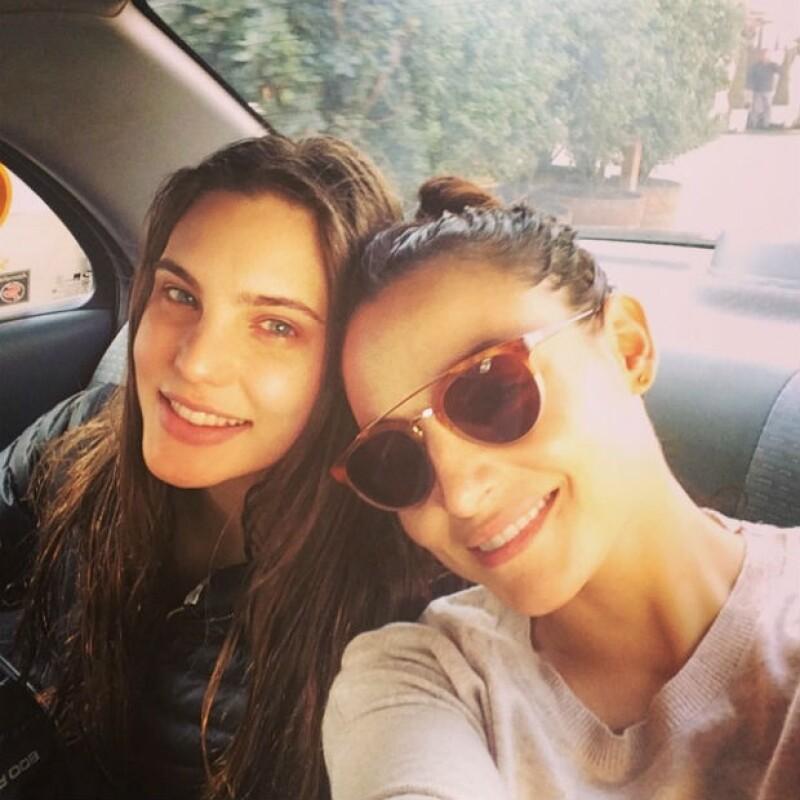 Marimar Vega y Macarena Achaga se despiden de su aventura televisiva en Chile.