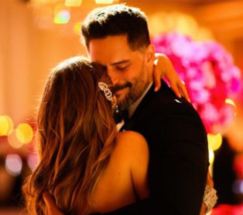 Con esta foto, la actriz felicitó a su esposo por su cumpleaños 39.