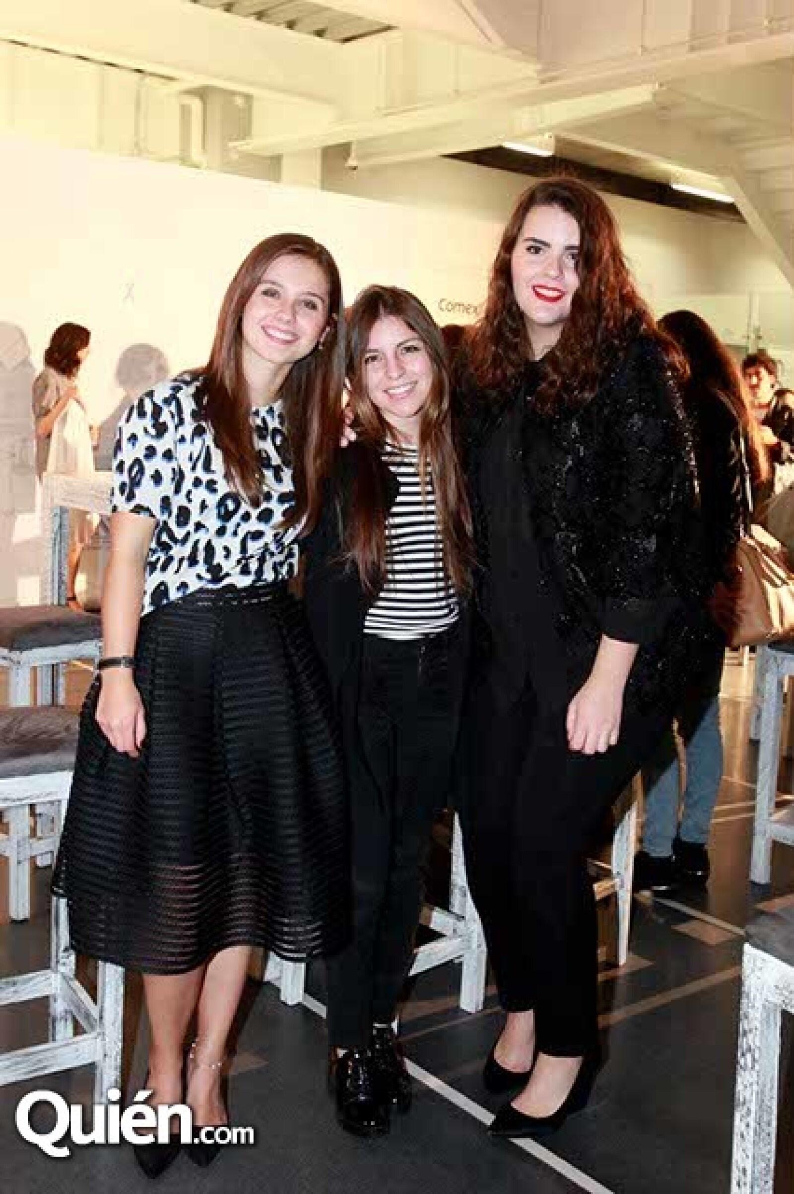 Nieves Galindo,Mónica Pino y Cecilia Amigo