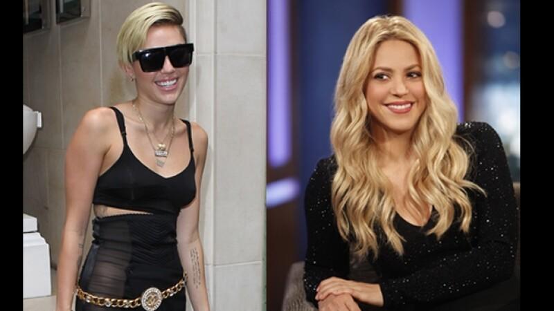 Shakira Miley Cyrus