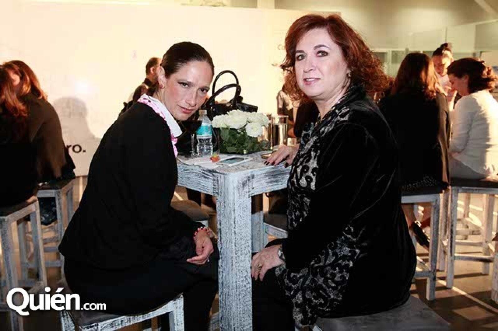 María Luisa Guisa y Jaqueline Beuchot