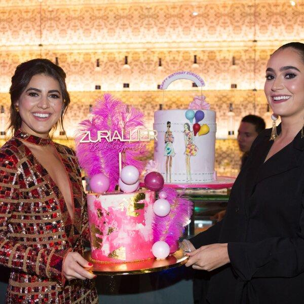 Fiesta Pam Allier y Paola Martínez Zurita