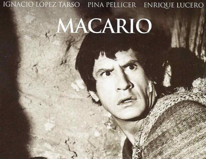 Macario, protagonizada por Ignacio Lopez Tarso, estuvo nominda al Oscar en 1961.