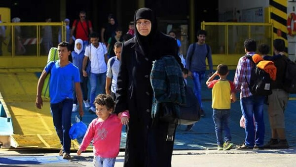 Refugiados de siria