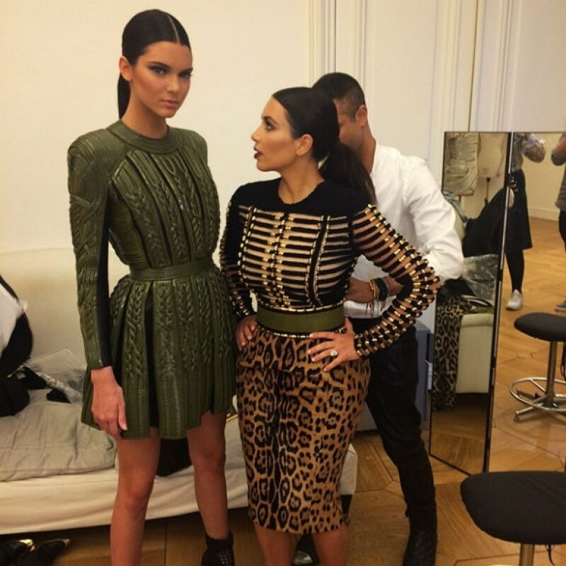 A diferencia de Kim, Kendall no es gran fan de aparecer en el reality show Keeping Up With The Kardashians.
