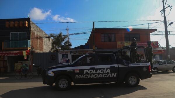 violencia michoacán