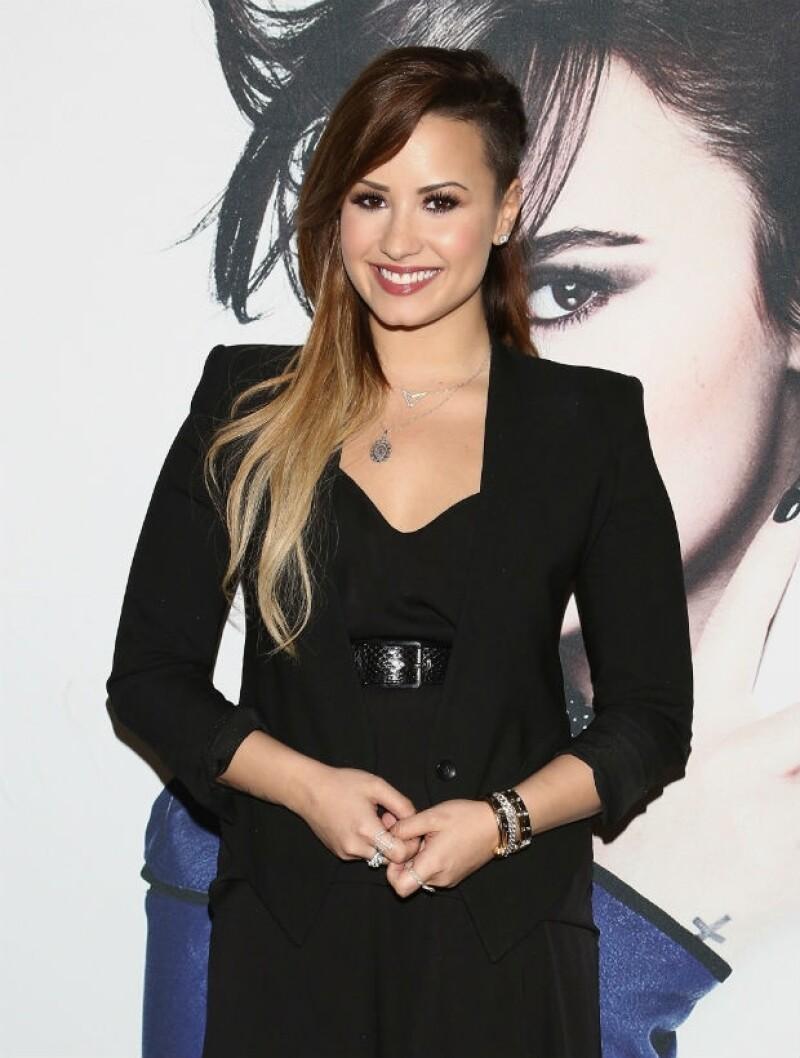 Demi Lovato también tendrá un concierto en Monterrey.