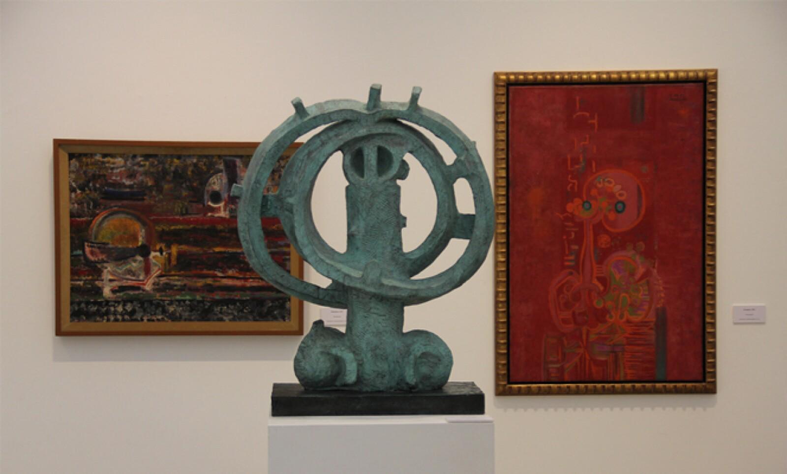 De las 30 obras en exhibición, 26 pertenecen a la colección de la Fundación Juan Soriano y Marek Keller.