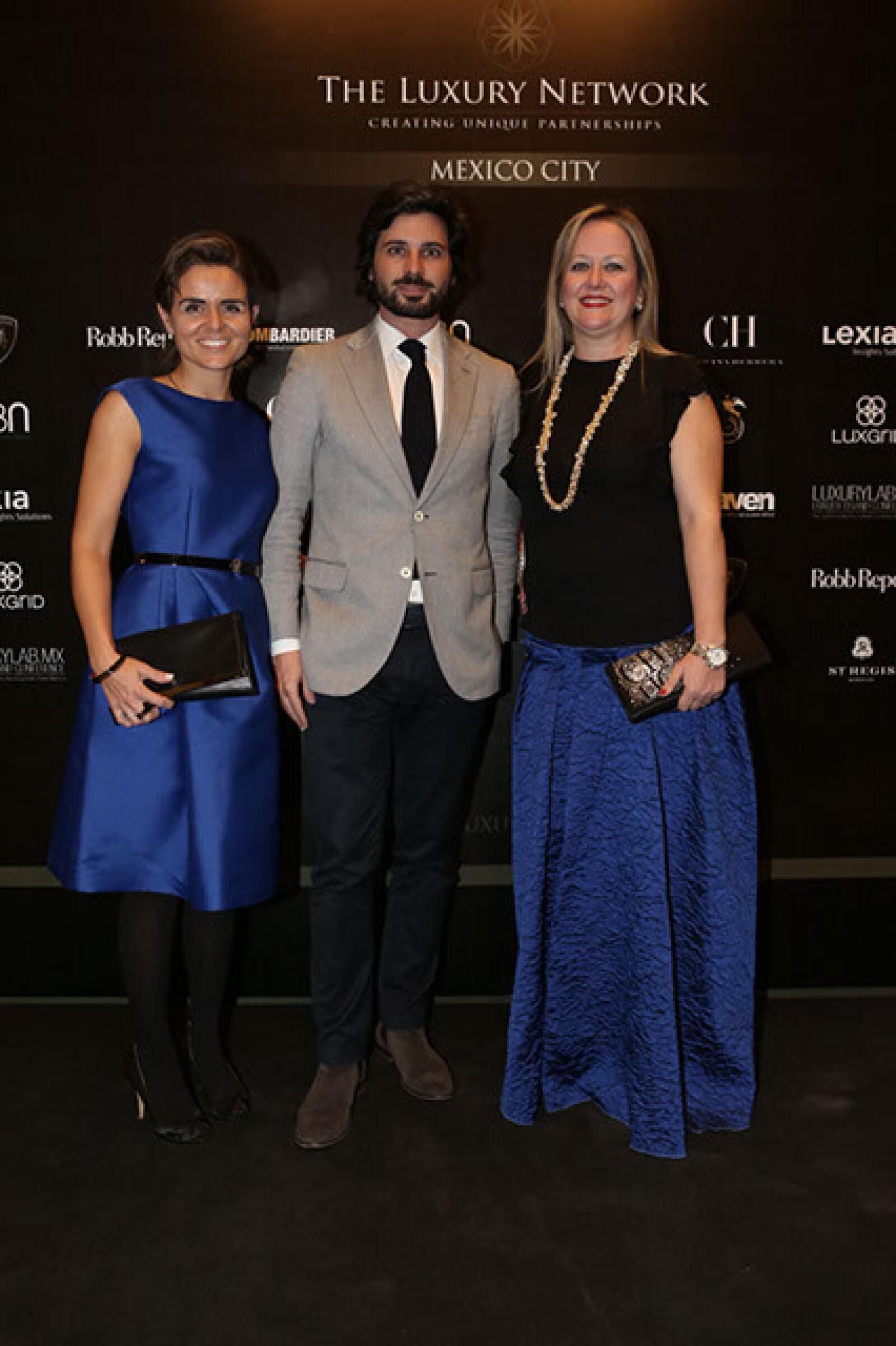 Ingrid de Barrios,Miguel Vargas,Yolanda Ruiz