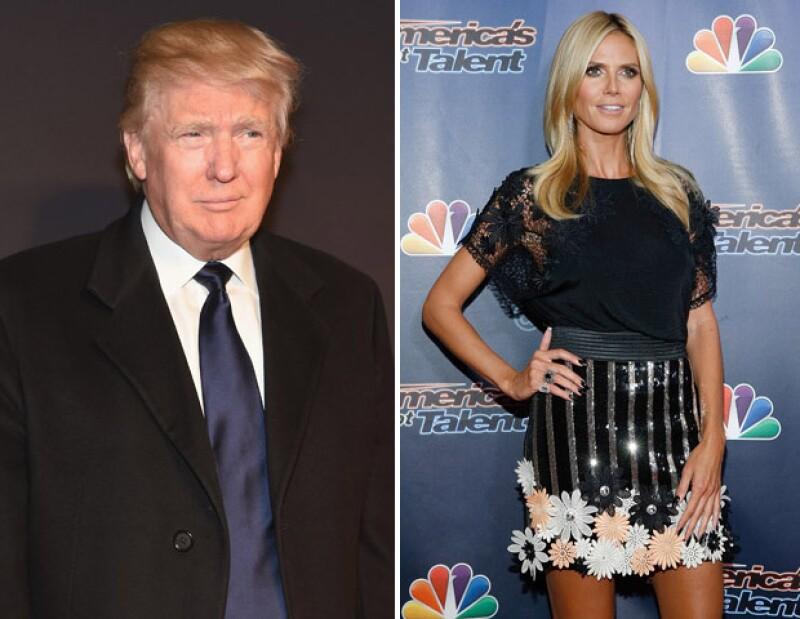 Con un divertido video, la top model respondió a los comentarios negativos que le hizo el candidato a la presidencia de Estados Unidos.