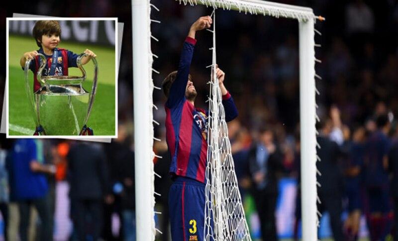 Tras la victoria del Barça en la final de la Liga de Campeones ante Juventus, la pareja de Shakira pareció disfrutar más que nadie, por lo que generó múltiples burlas hasta convertirse en TT.
