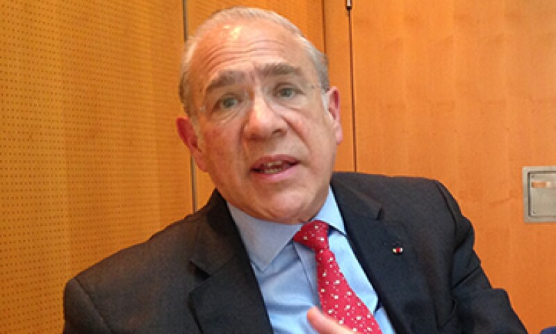 Gurría dice que entre sus retos al frente de la OCDE está recuperar el crecimiento. (Foto: Carmen Luna)