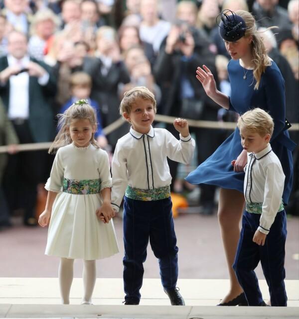 Lady Louise y el príncipe George