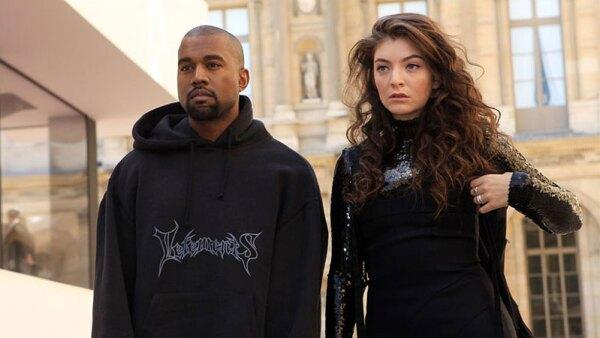 Kanye West y Lorde
