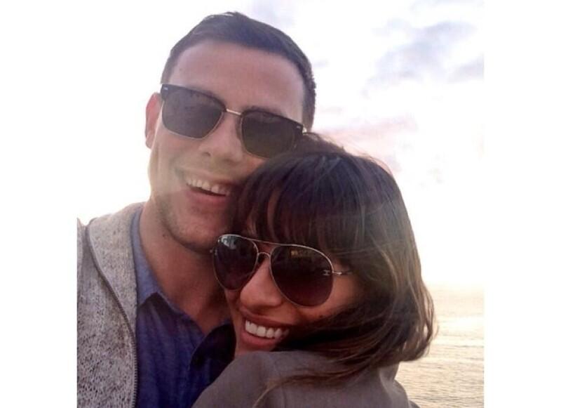 """Pasadas casi tres semanas de la muerte de su novio, también protaginista de """"Glee"""", la cantante anunció en Twitter su regreso a los ensayos para la quinta temporada de la serie."""