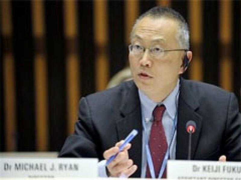 El titular de la OMS, Keji Fukuda, se reunirá con especialistas y científicos alrededor del mundo en una conferencia virtual. (Foto: AP)