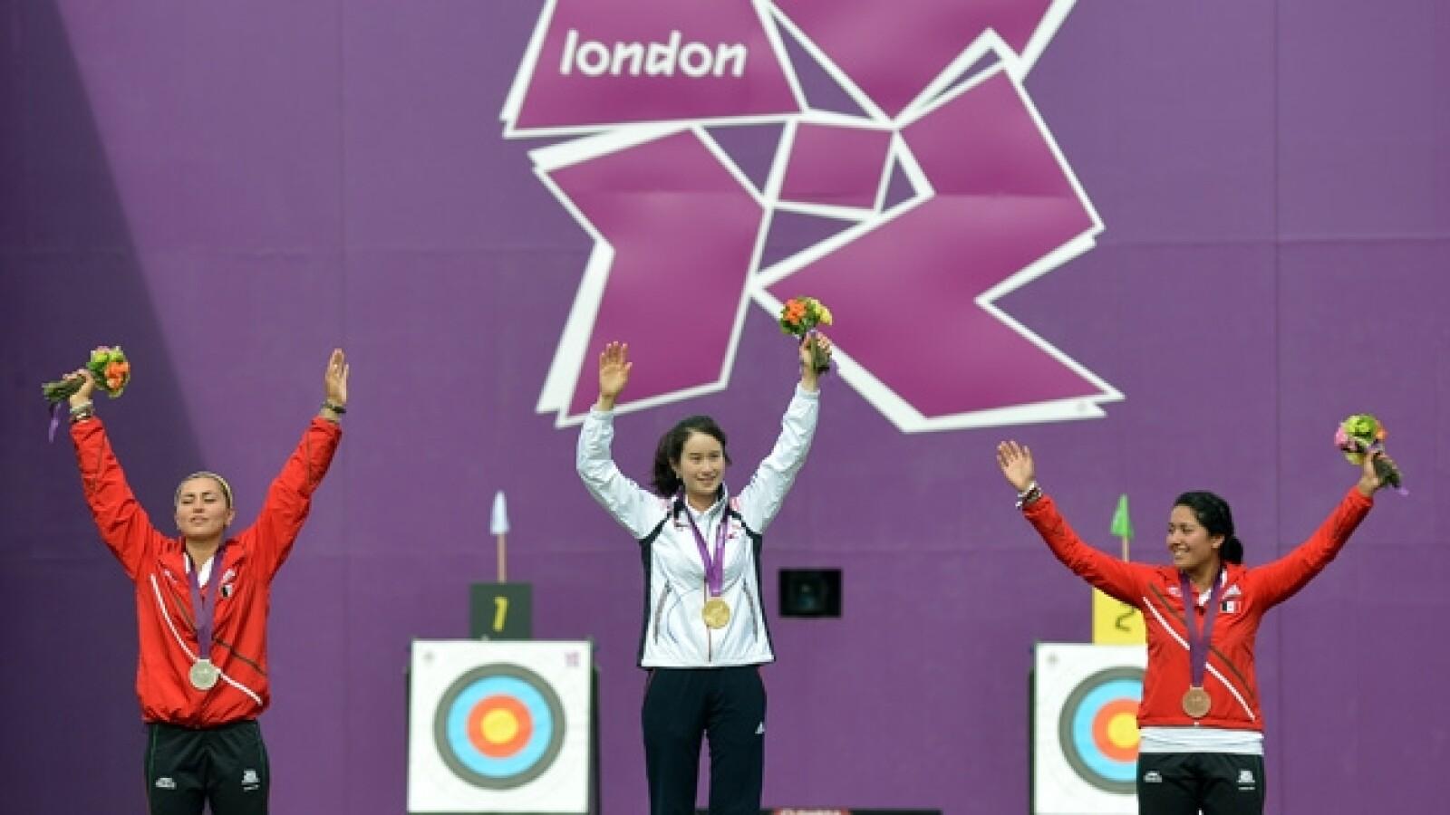 Mariana Avitia sube al podio en tiro con arco