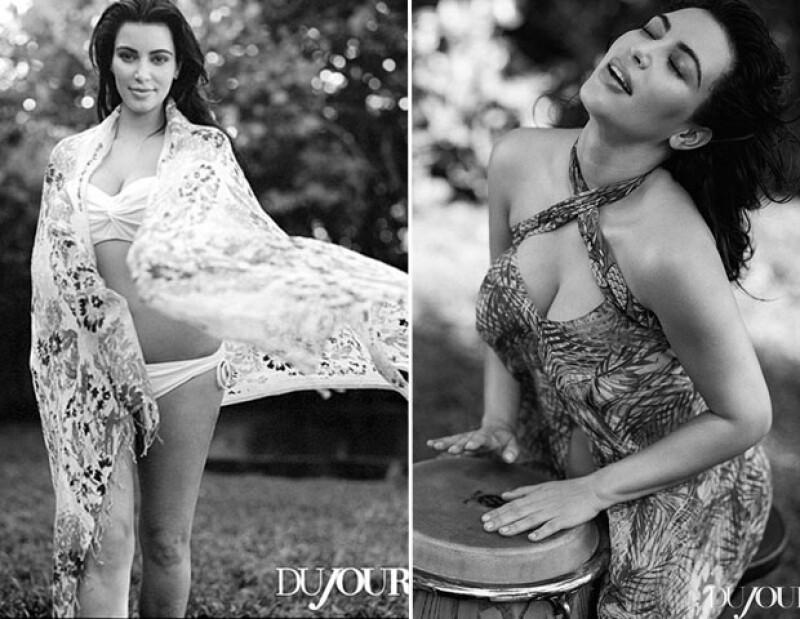 La socialité se dejó fotografiar sin una gota de maquillaje para la revista Doujour y según se narra en la publicación se trató plasmar no sólo su belleza exterior sino la interior.