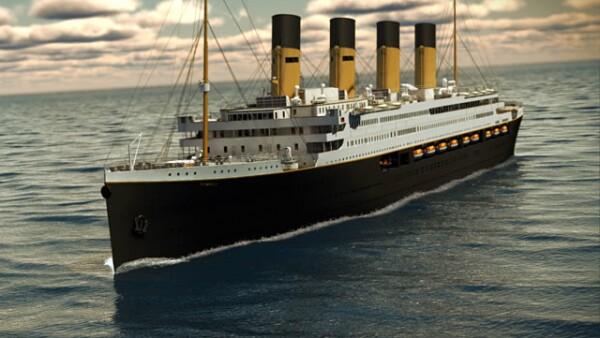 La cadena de cruceros Blue Star Line publicó una galería de cómo se verá la primera réplica del famoso transatlántico.
