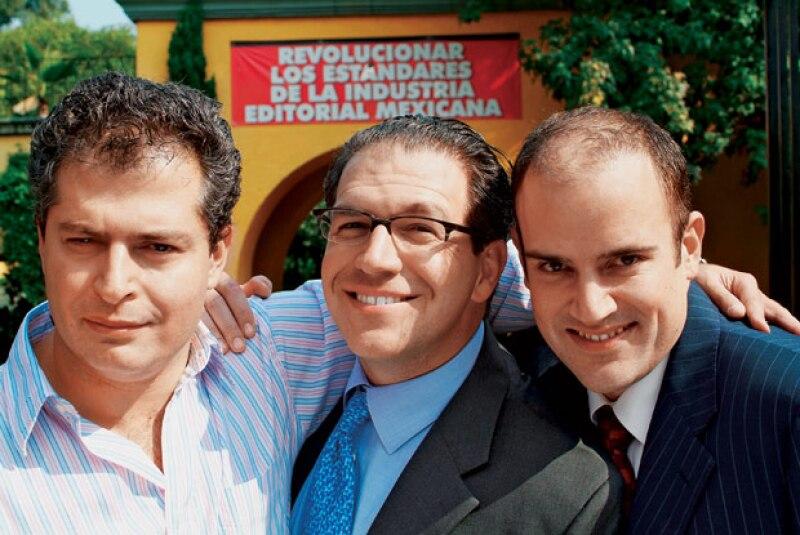 Luis Tejado, John Reuter y Manuel Rivera Raba.