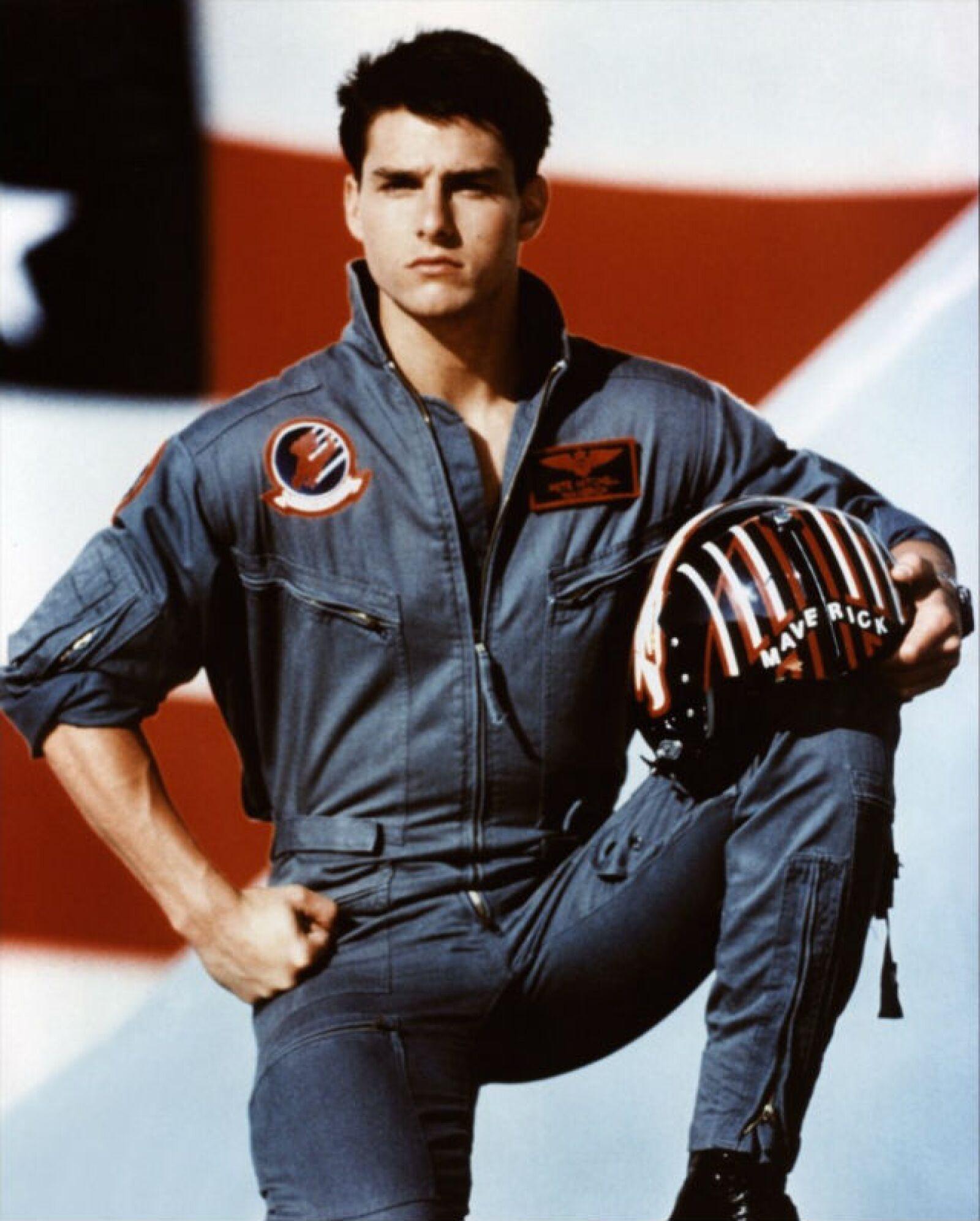 Tom Cruise nos hizo mirar a las alturas cuando interpretó a un piloto en Top Gun, de 1986.