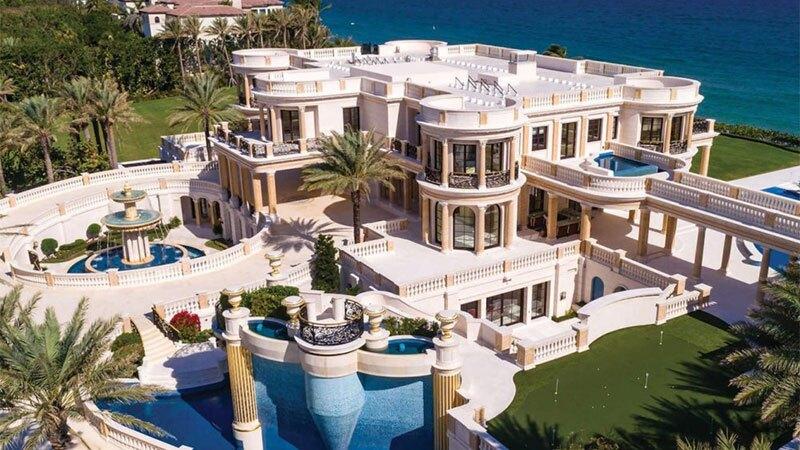 Mega mansión inspirada en PVersalles