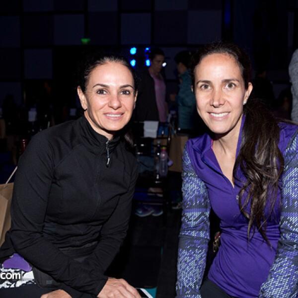 Jacqueline Guindi y Adriana Cazares